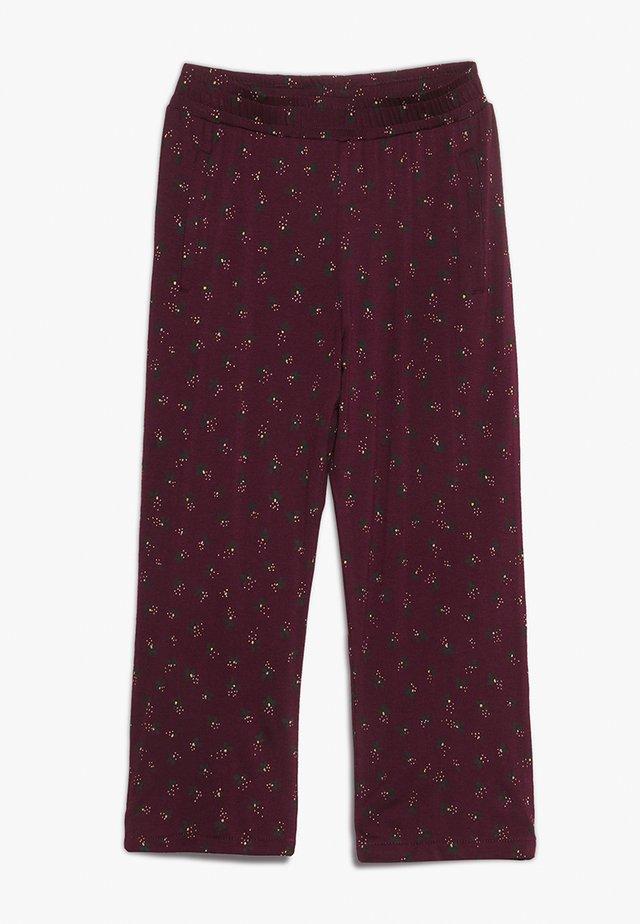 BECKY PANTS - Trousers - bordeaux
