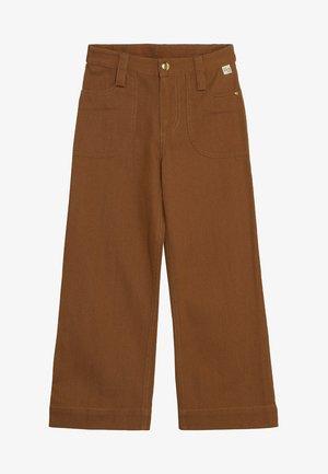 BLANCA PANTS - Trousers - bone brown