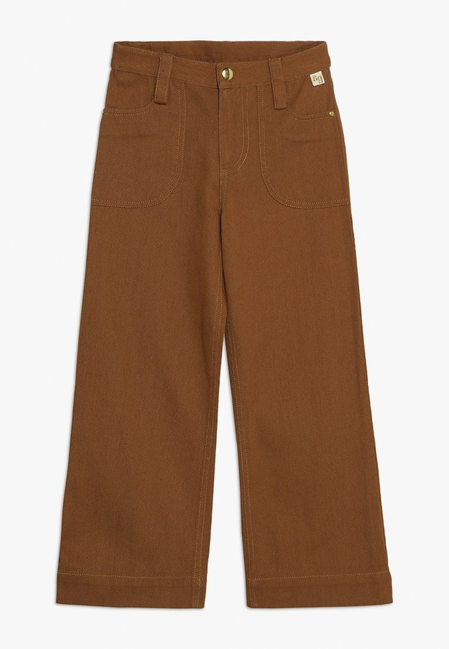 BLANCA PANTS - Trousers - bone brown