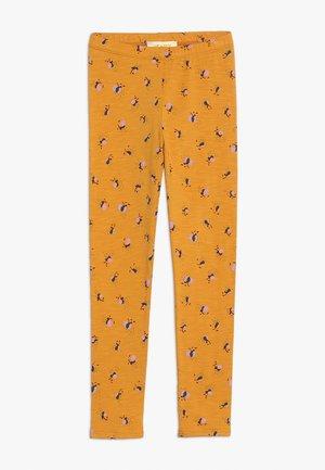PAULA - Leggings - Trousers - mustard yellow