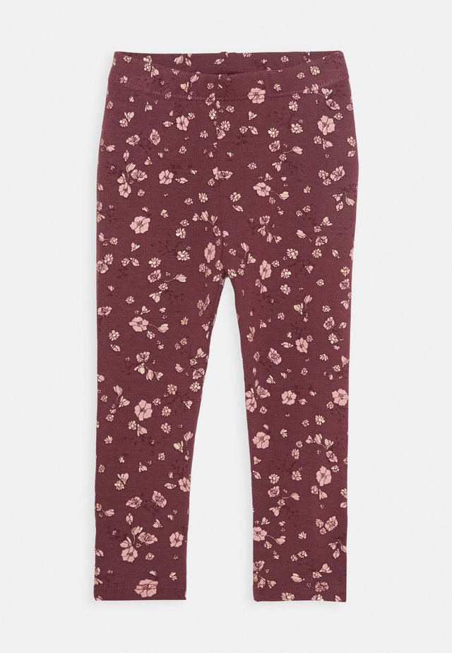 BABY PAULA - Leggings - oxblood red