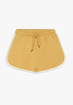 DORIA  - Tracksuit bottoms - golden apricot