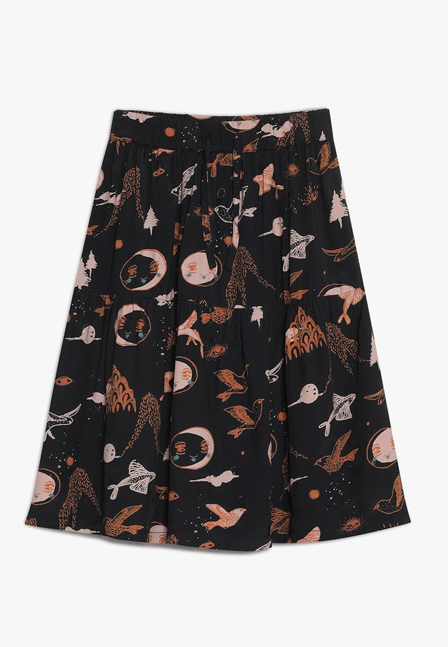 EDEL SKIRT - A-Linien-Rock - enchanted forest