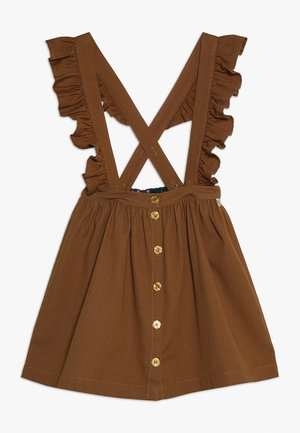 DIXIE SKIRT BRACES - A-snit nederdel/ A-formede nederdele - bone brown