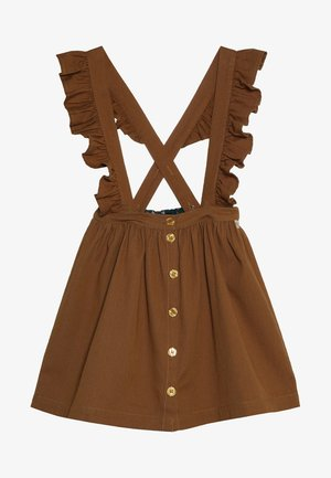 DIXIE SKIRT BRACES - A-line skirt - bone brown