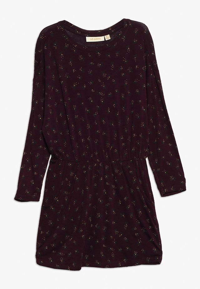 VIGDIS DRESS - Trikoomekko - bordeaux