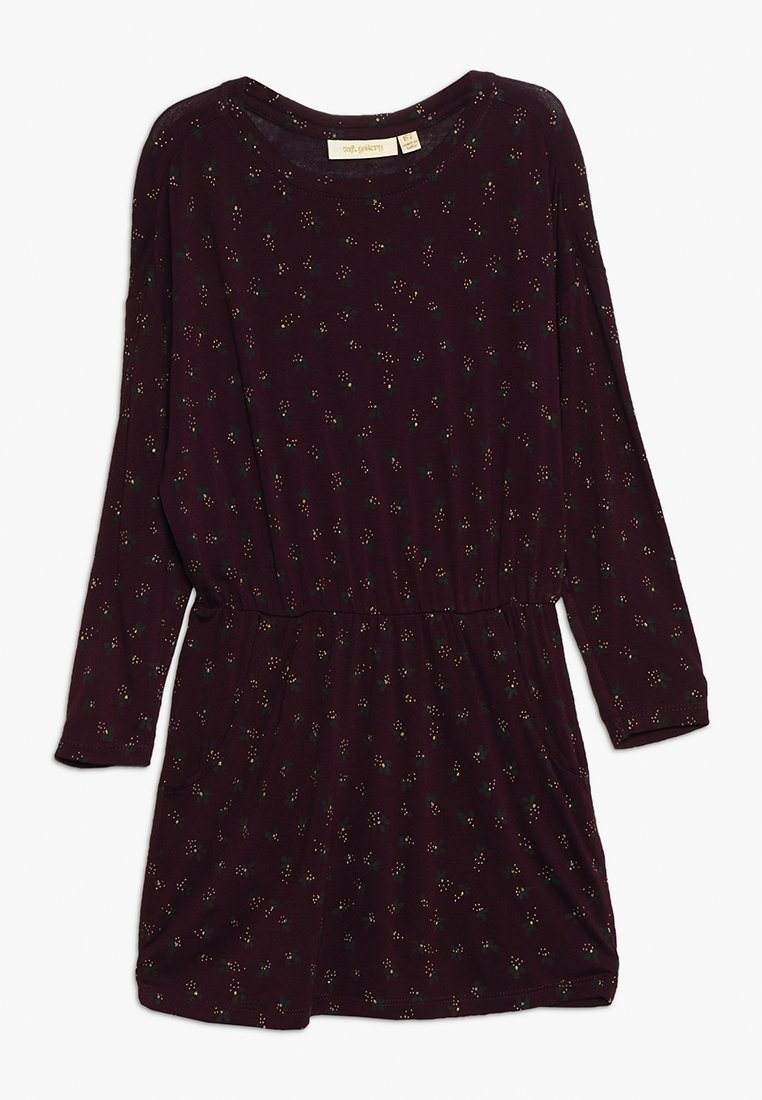 Soft Gallery - VIGDIS DRESS - Jerseyjurk - bordeaux