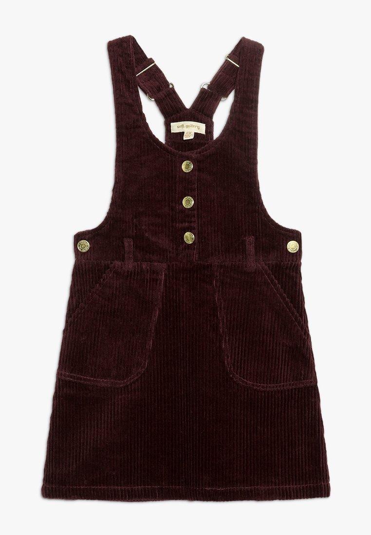 Soft Gallery - EMMYLOU DRESS - Robe d'été - bordeaux