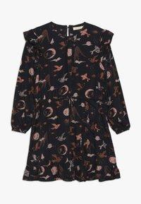 Soft Gallery - EA DRESS - Sukienka letnia - anthracite - 0