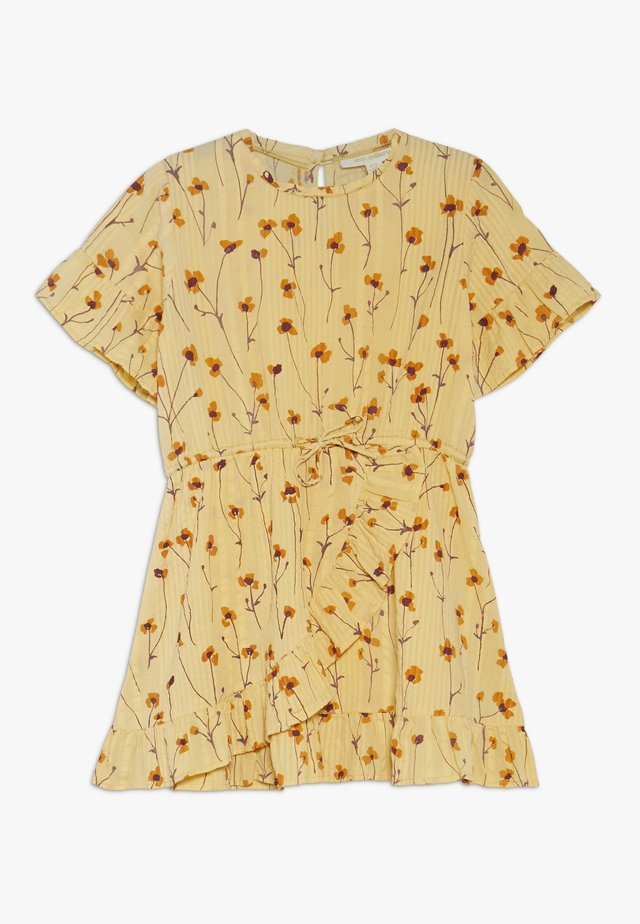 DORY DRESS - Day dress - golden apricot