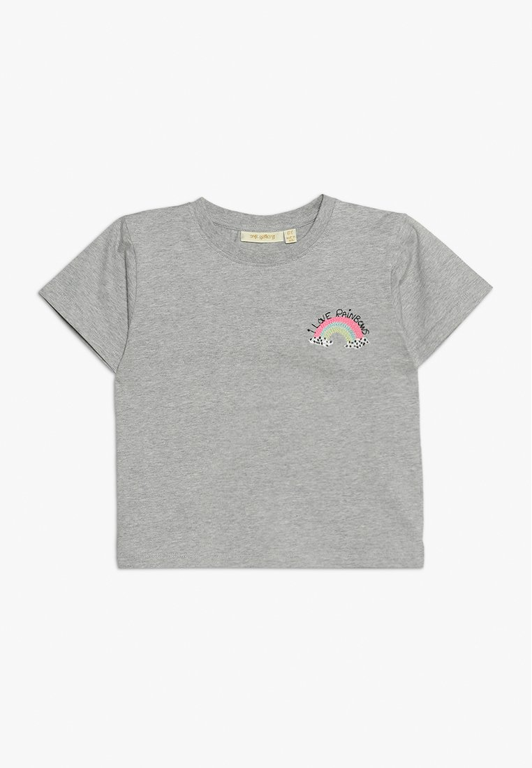Soft Gallery - DOMINIQUE RAINBOW MINI - T-shirts print - light grey melange