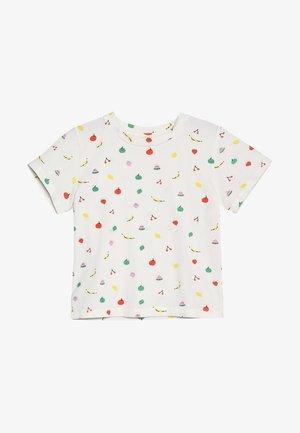 DOMINIQUE FRUITY - T-shirt z nadrukiem - pristine