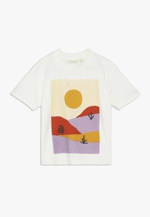 DHARMA SCENERY - T-Shirt print - gardenia