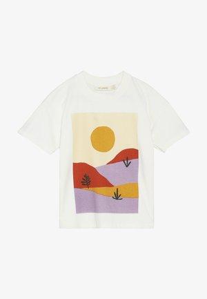 DHARMA SCENERY - T-shirt imprimé - gardenia