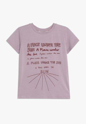 BASS SUNSPOT - Print T-shirt - dawn pink