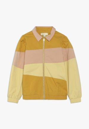 FIOLA JACKET - Bomber bunda - yellow/pink