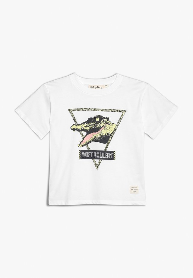 ASGER SEE YA - T-shirts med print - white