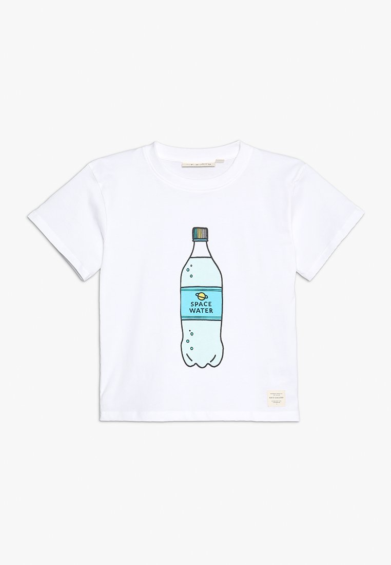 Soft Gallery - SPACEWATER  - T-Shirt print - white