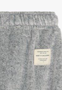 Soft Gallery - MEO PANTS - Pantalon classique - grey grit melange - 3