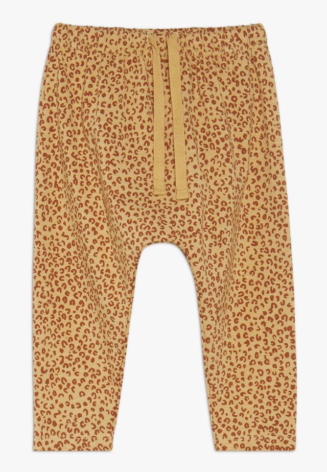 HAILEY PANTS LEO SPOT - Stoffhose - taffy