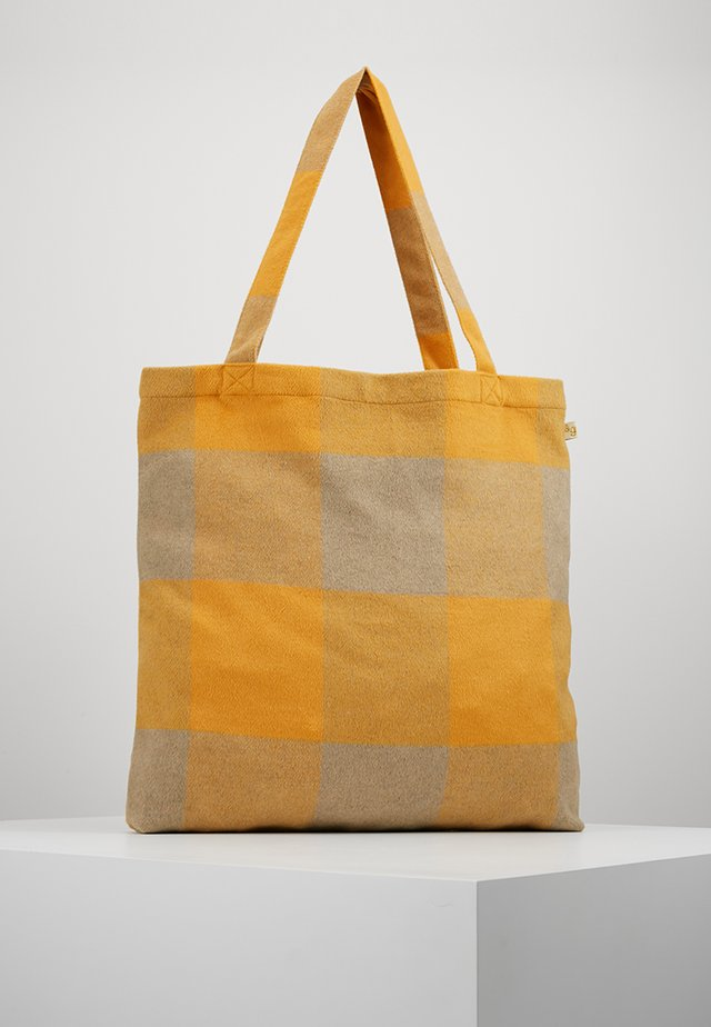 SACK BAG - Shopping bag - golden