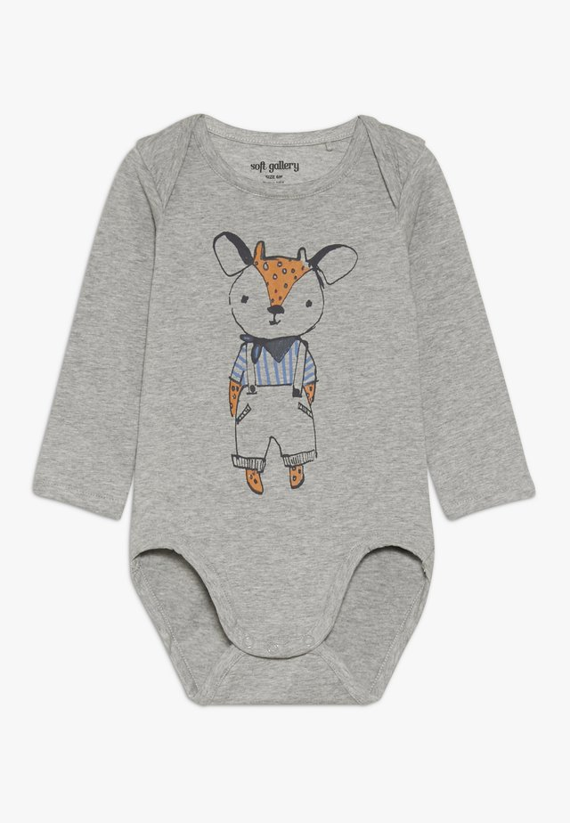 BOB BODY OHH DEER - Body - grey melange