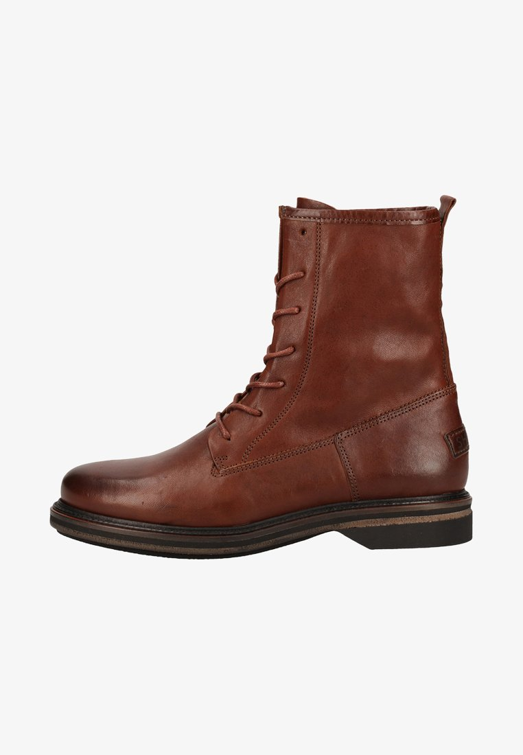 Shabbies Amsterdam - Lace-up ankle boots - brown