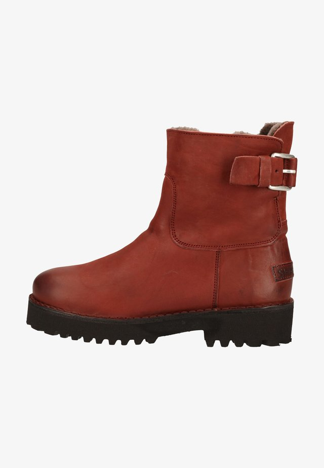Winter boots - red brown