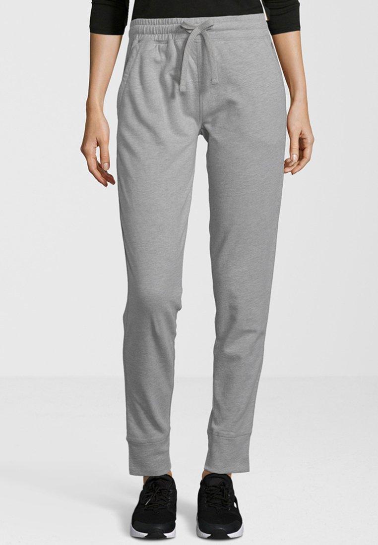 Shirts for Life - LARISSA - Tracksuit bottoms - grey melange