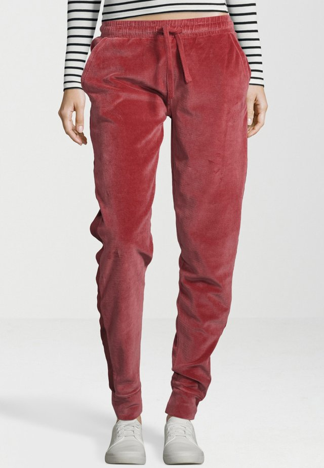 Tracksuit bottoms - antique rose