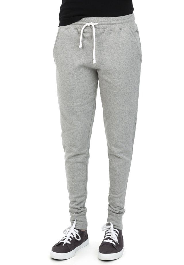 STEPHANIA - Tracksuit bottoms - grey melange
