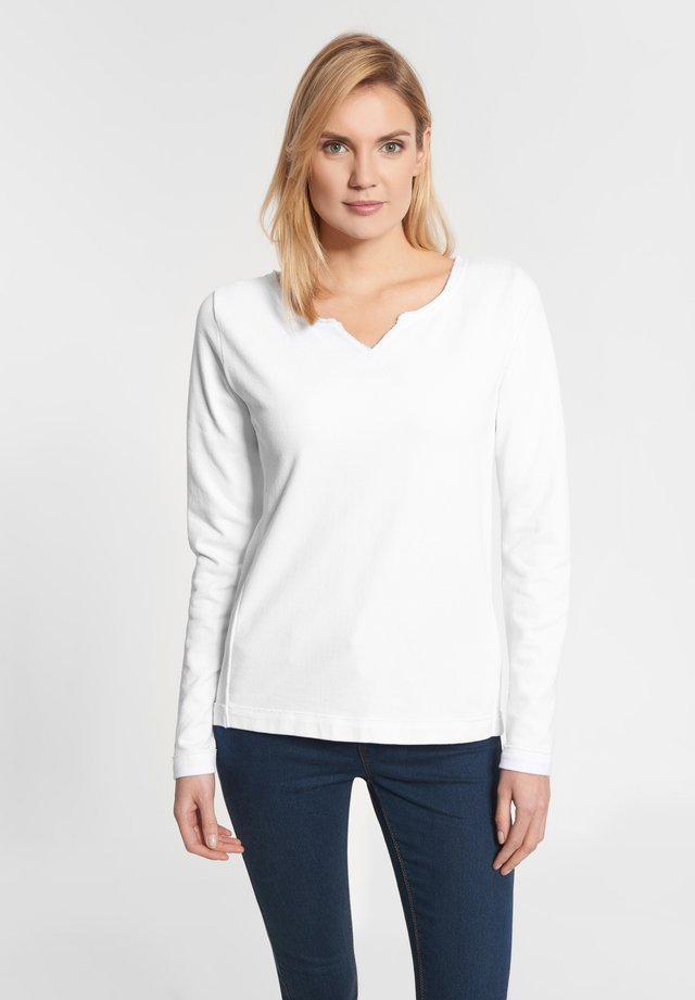 PARMA - Sweatshirt - white