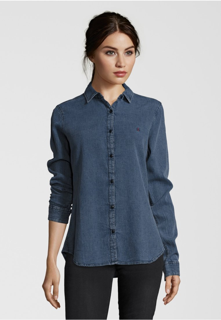 Shirts for Life - Hemdbluse - blue denim