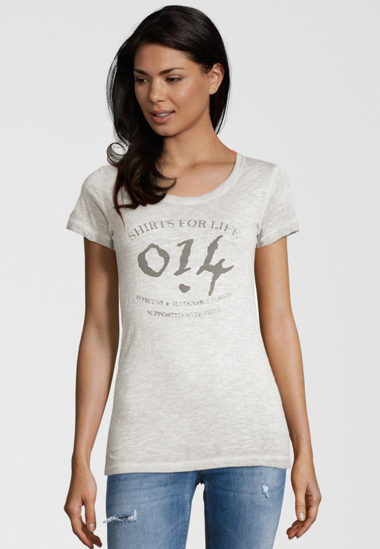 Shirts for Life - MARA - Print T-shirt - off-white