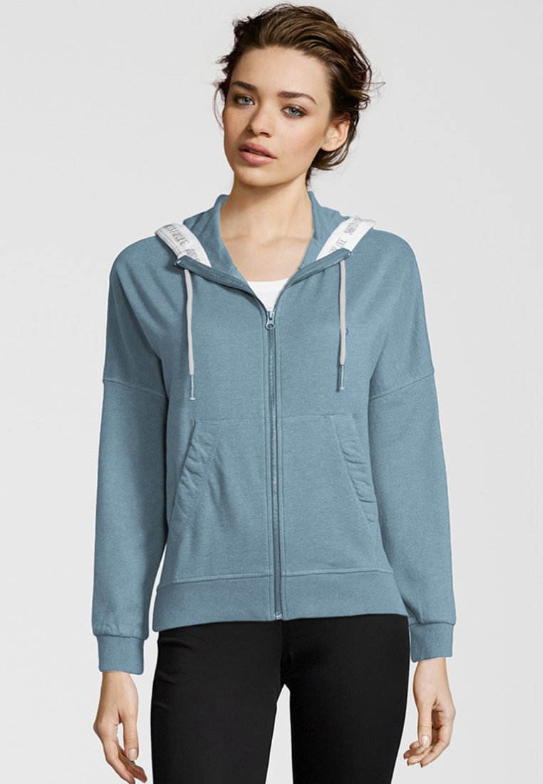 Shirts for Life - PHILLINE - Zip-up hoodie - pale blue