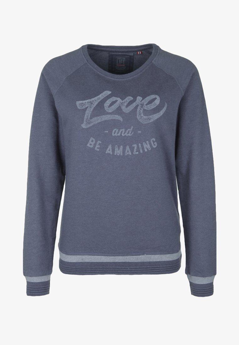 Shirts for Life - SANDRINE - Sweatshirt - vintage blue