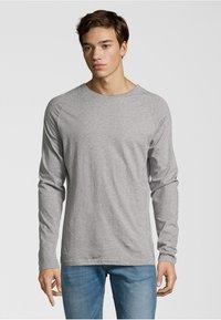 Shirts for Life - LONGSLEEVE ANTON  - Long sleeved top - grey melange - 0