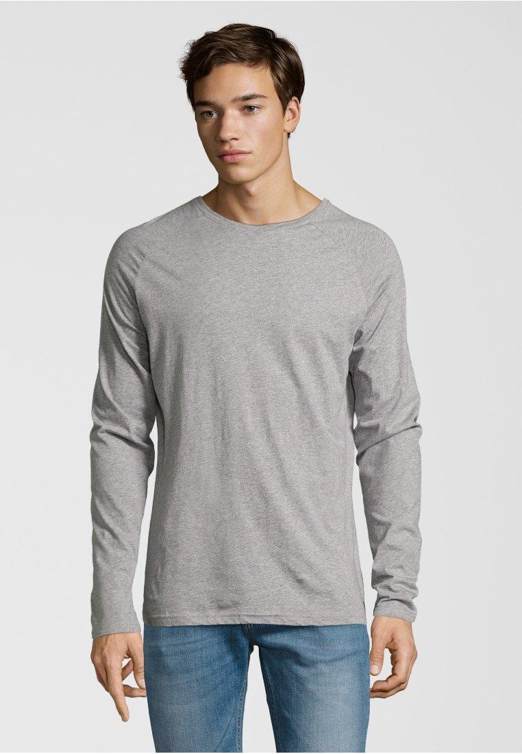 Shirts for Life - LONGSLEEVE ANTON  - Long sleeved top - grey melange