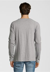 Shirts for Life - LONGSLEEVE ANTON  - Long sleeved top - grey melange - 1