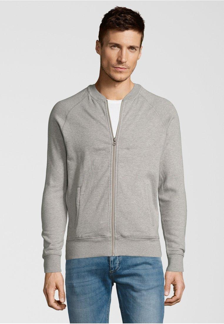 Shirts for Life - NORMAN - Zip-up hoodie - grey melange