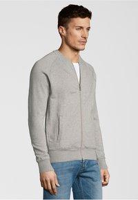 Shirts for Life - NORMAN - Zip-up hoodie - grey melange - 2