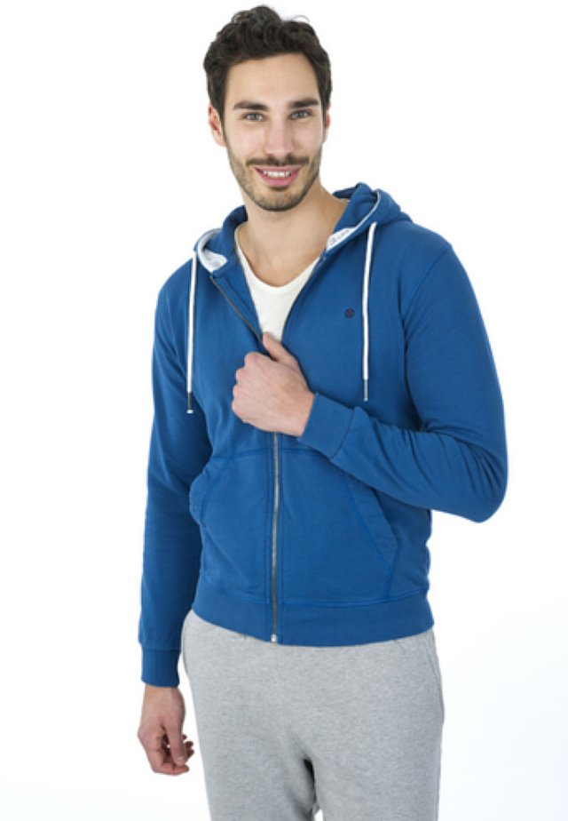 PHILLIIPP - Zip-up hoodie - blue