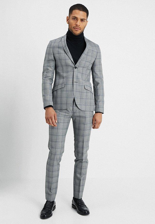 CREWE SUIT - Suit - grey/blue