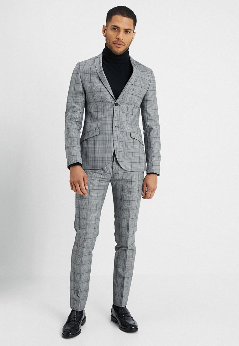 Shelby & Sons - CREWE SUIT - Anzug - grey/blue