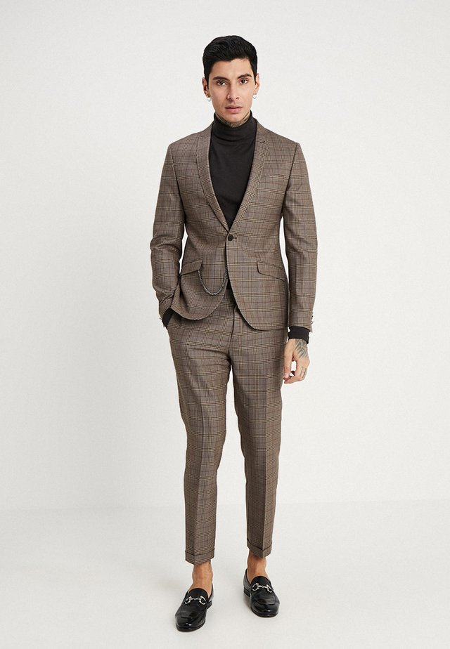 OLDHAM SUIT - Suit - brown