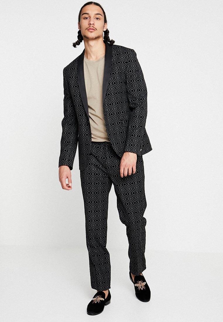 Shelby & Sons - LIVERPOOL TUX SUIT - Suit - charcoal