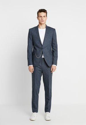 NEWTOWN SUIT - Oblek - mid blue