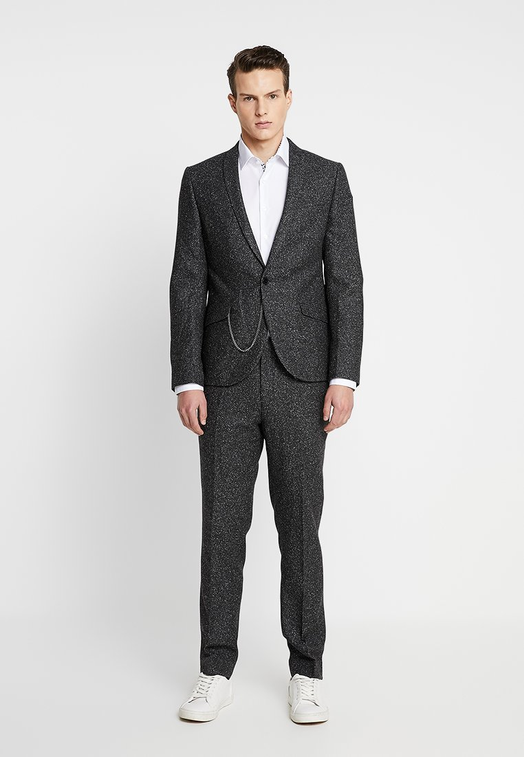 Shelby & Sons - BUCKLAND SUIT - Anzug - charcoal