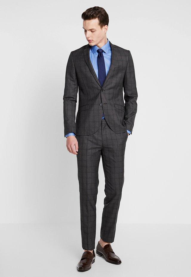 REDNAL SUIT - Suit - dark brown