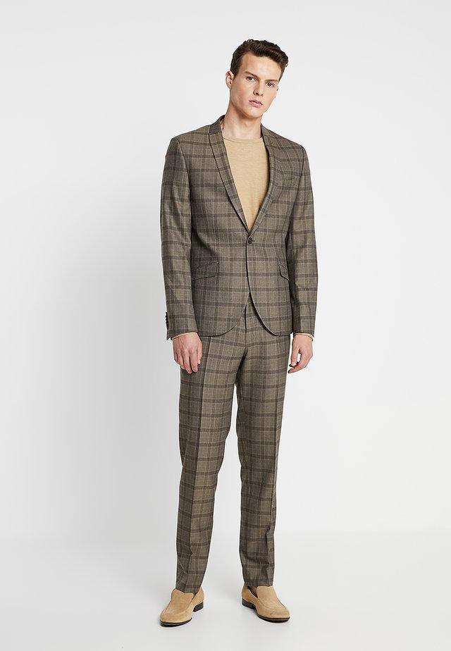 SUTTON SUIT - Oblek - brown